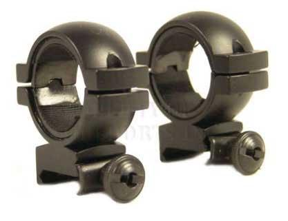 Real Steel 30mm Weaver Ring Stud-Low with 1 Inserts.