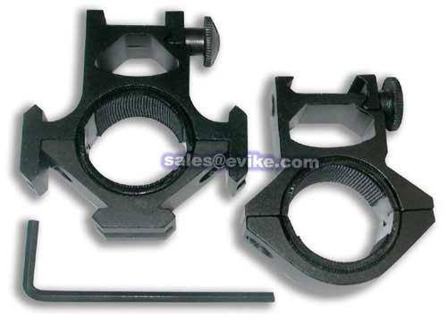 Real Steel 30mm High Profile Tri Rail Scope Ring Mount Set