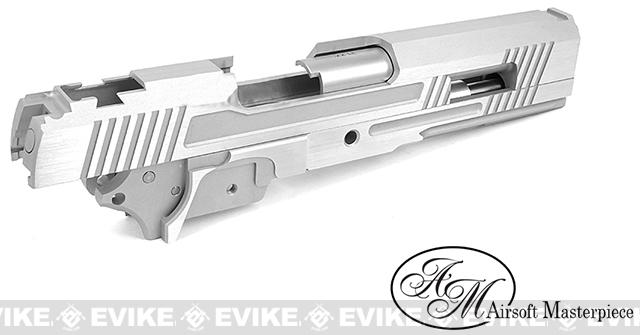 Airsoft Masterpiece Two-Two Standard Slide and Frame Kit for Tokyo Marui Hi-CAPA - Silver