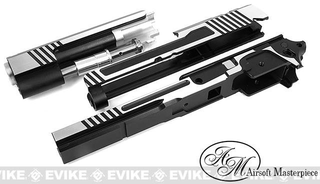 Airsoft Masterpiece Two-Two Standard Slide and Frame Kit for Tokyo Marui Hi-CAPA - Two-Tone