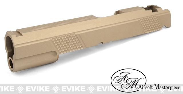 Airsoft Masterpiece Shay Akai Spike ver. Standard Slide for Tokyo Marui Hi-CAPA - Dark Earth
