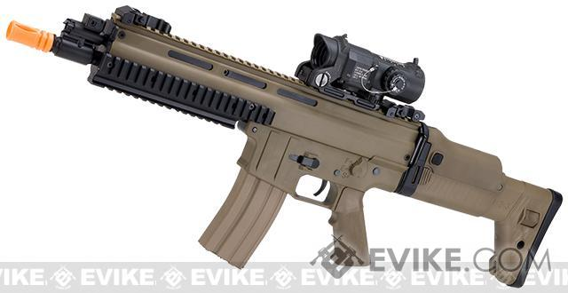 Pre-Order ETA August 2017 Classic Army Licensed ISSC MK22 Commando CQC Airsoft AEG Rifle (Color: Dark Earth)