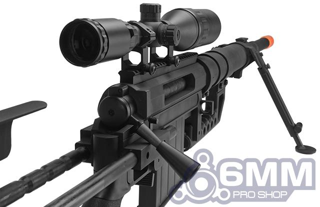 CheyTac Licensed M200 Intervention Bolt Action Custom Sniper Rifle (Model: Black)