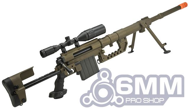 (MEMORIAL DAY SALE!) CheyTac Licensed M200 Intervention Bolt Action Custom Sniper Rifle (Model: Dark Earth)