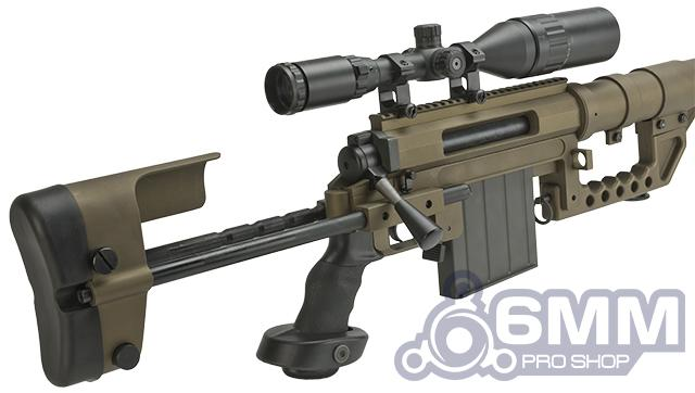 CheyTac Licensed M200 Intervention Bolt Action Custom Sniper Rifle (Model: Dark Earth)