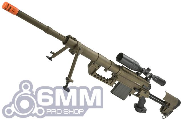 M200 .408 Type Bolt Action Sniper Rifle by 6mmProShop (Dark Earth)