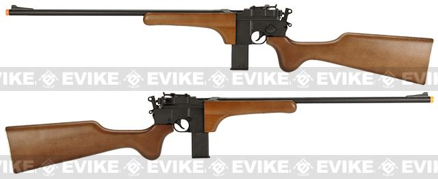 HFC Full Metal WWII Mauser M712 Airsoft Gas Powered Sniper Rifle w/ Wood furniture.