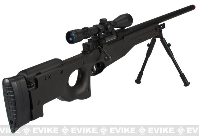 Shadow Op MB01 Type96 MK96 APS-2 Airsoft Bolt Action Sniper Rifle - Black (Package: Add 3-9x40 Scope)