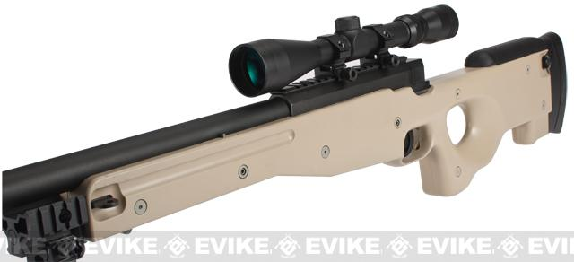 Shadow Op MB01 Type96 MK96 APS-2 Airsoft Bolt Action Sniper Rifle - Desert Tan (Package: Add Bipod)
