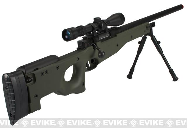 Shadow Op MB01 Type96 MK96 APS-2 Airsoft Bolt Action Sniper Rifle - OD Green (Package: Bipod)