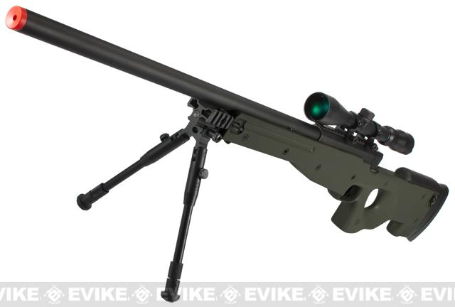 Shadow Op MB01 Type96 MK96 APS-2 Airsoft Bolt Action Sniper Rifle - OD Green (Package: Add 3-9x40 Scope)