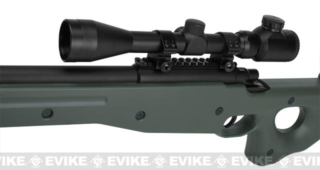 AGM Type 96 Airsoft Bolt Action Sniper Rifle - OD Green (Package: Add 3-9x40 Scope)