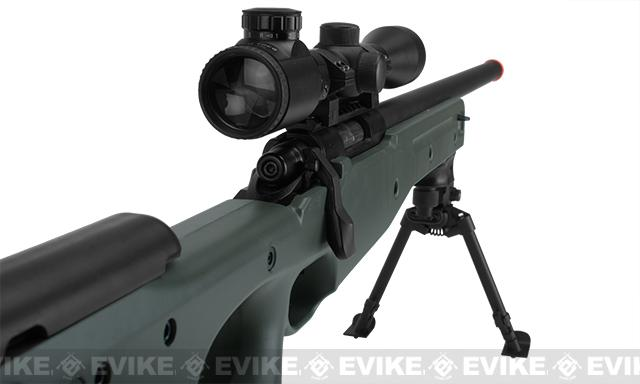 AGM Type 96 Airsoft Bolt Action Sniper Rifle - OD Green (Package: Add Bipod)