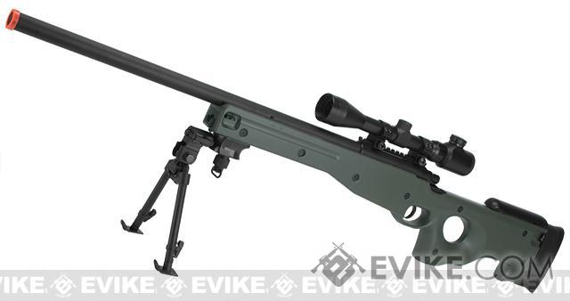 Pre-Order ETA July 2016 AGM Type 96 Airsoft Bolt Action Sniper Rifle - OD Green (Package: Rifle)