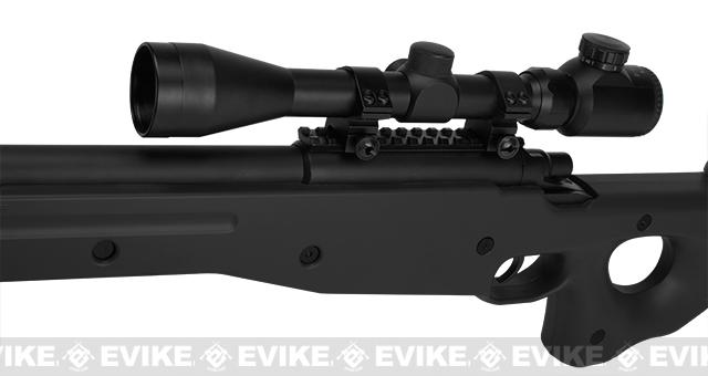 AGM Type 96 Airsoft Bolt Action Sniper Rifle - Black (Package: Bipod)