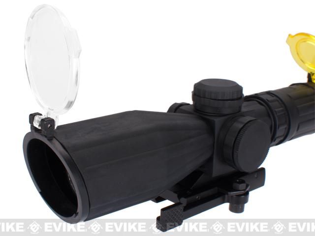 z AIM Rubber Armored 3-9x42 QRM Dual Illuminated Rifle Scope