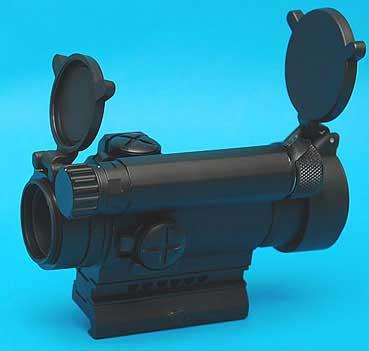 M4 Type Red Dot Sight w/ 20mm weaver QD Mount Base for Airsoft