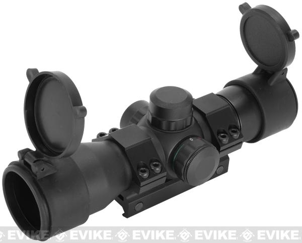 New Gen Quick Aim Green & Red Dot Scope w/ 20mm Weaver Base Scope Mount