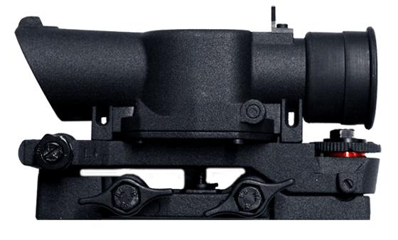 Matrix Full Metal SUSAT Type Tactical Scope w/ QD Weaver Mount for 20mm Rail