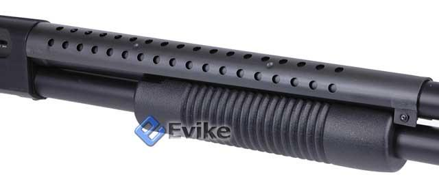 z DE M58B Pistol Grip M500 Tactical Heavy Weight Airsoft Pump Shotgun.