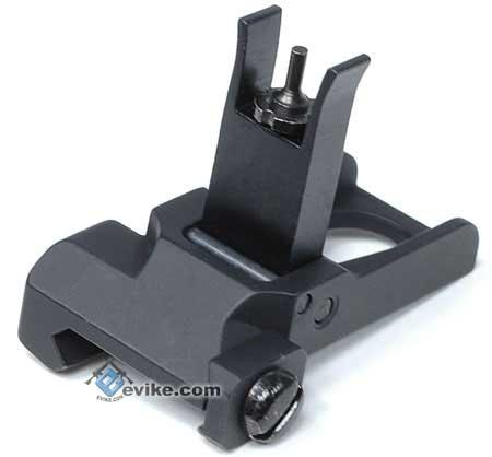 Matrix SR25 / PDW Type Metal Flip-Up Front Sight for Airsoft AEG Rifles