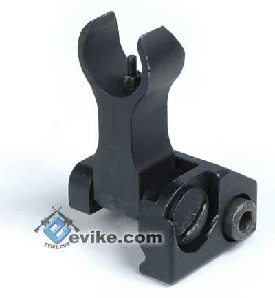 Matrix Tactical Metal RIS Mount Flip-Up Front Sight for Airsoft AEG