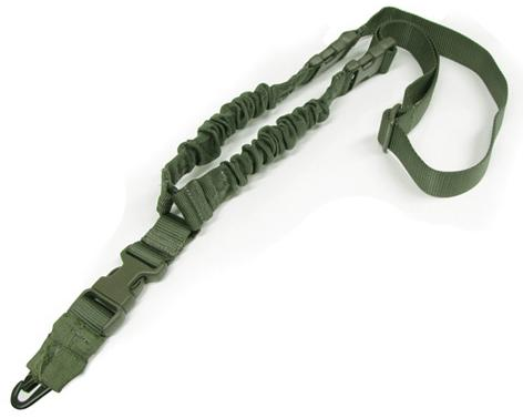 Condor Cobra Type Tactical One Point Bungee Sling - OD Green