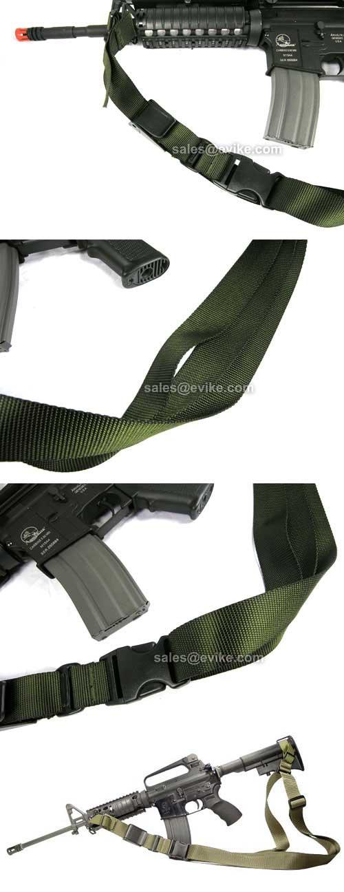 Matrix High Speed Special Force Tactical 3 Point Sling - OD Green