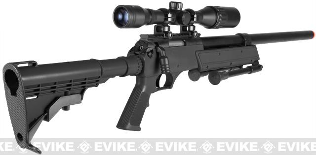 Echo1 USA ASR Advance Sniper Rifle A.S.R. Bolt Action Sniper Rifle w/ Bipod