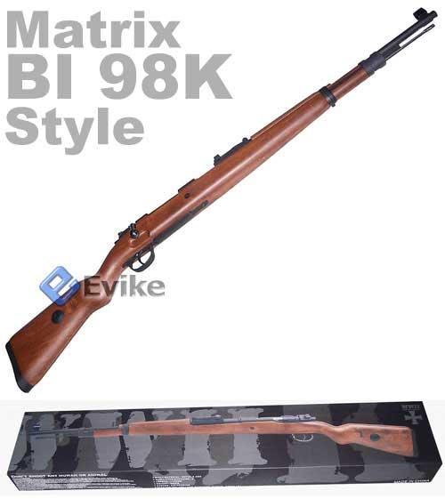 BoneYard - 98K Full Metal Chamber Full Size Rifle (Store Display, Non-Working Or Refurbished Models)