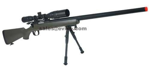 Matrix VSR-10 MB03 Bolt Action Airsoft Sniper Rifle by WELL - OD Green