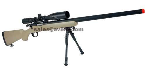 Matrix VSR-10 MB03 Bolt Action Airsoft Sniper Rifle by WELL - Desert