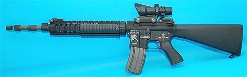 G&P M16A2 Full Stock for WA / WE M4 Series Airsoft GBB Rifle (OD)