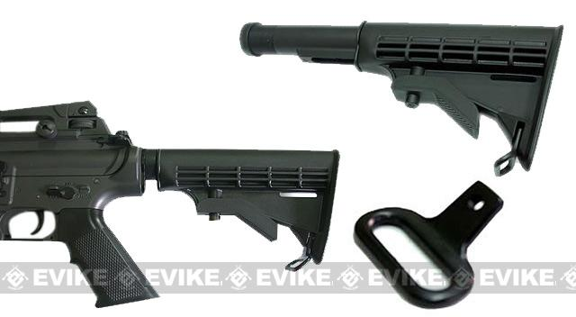 ICS M4 LE Type 6 Position Retractable stock with Metal Tube Set for ICS M4