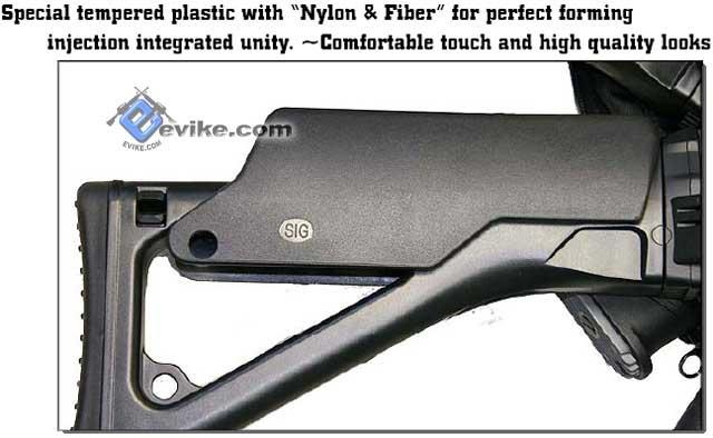 SIG551 SIG552 Sniper Cheek Riser Rest by ICS Airsoft