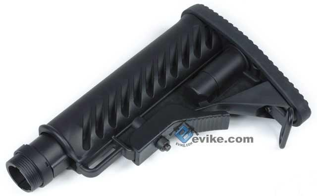 Matrix 556 Type Special Force M4 Retractable Stock with 5 Position Metal Tube (Black)