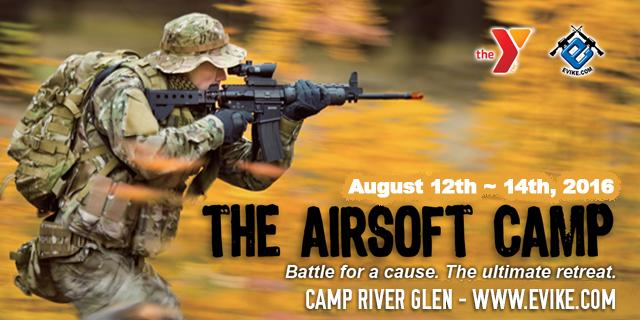 The Airsoft Camp 2016 - The Ultimate Airsoft Retreat - Woodland Force (August 12th-14th, 2016)