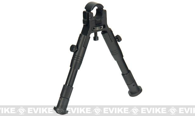 UTG New Gen Adjustable Reinforced Enhanced Center Height Clamp-on Bipod