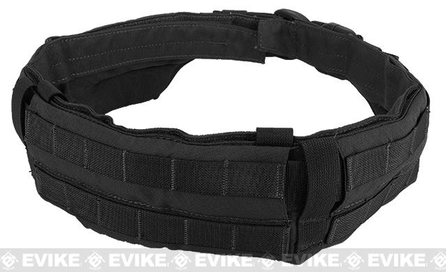 TMC Padded Modular Duty / Battle / Rig Belt - Black