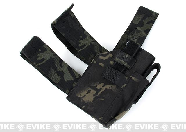 TMC NBD Drop-Leg Holster - Multicam Black (Right Hand)