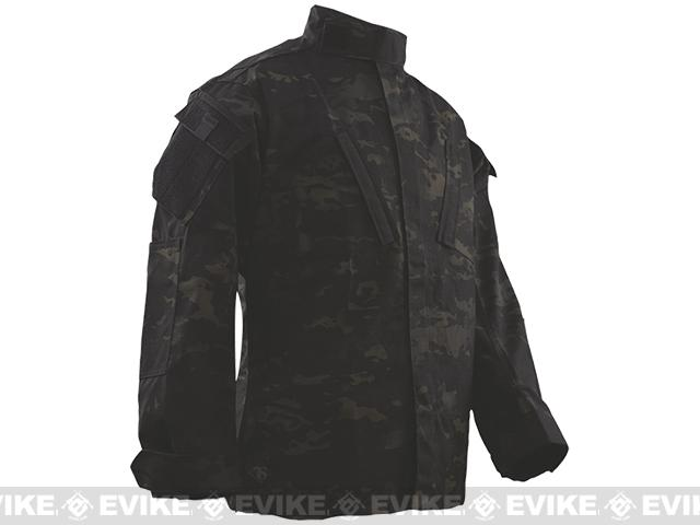 Tru-Spec Tactical Response Uniform Shirt - Multicam Black (Size: Medium-Regular)