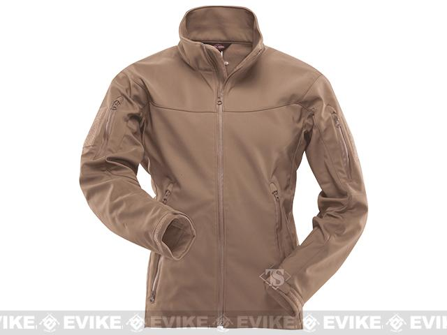 Tru-Spec 24-7 Series Tactical Softshell Jacket - Coyote (Size: Medium)