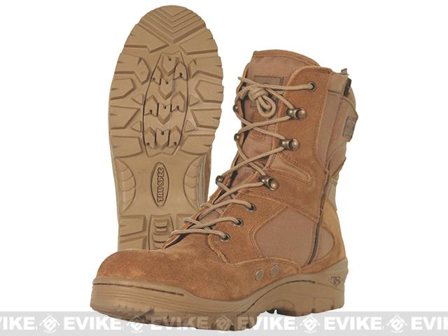 Tru-Spec Tactical Side Zipper Boots - Coyote (Size: 11)