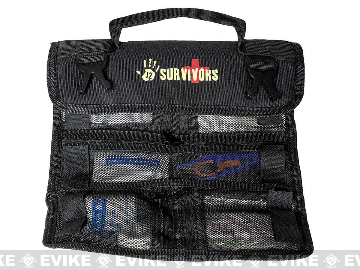12 Survivors Mini First Aid Rollup Kit
