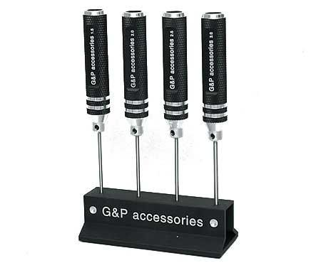 G&P Professional Airsoft Teching Steel Precision HEX Screwdriver Set