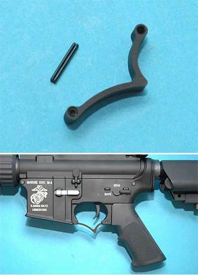 SPR / Sniper Type Metal Trigger Guard for M4 / M16 series Airsoft AEG