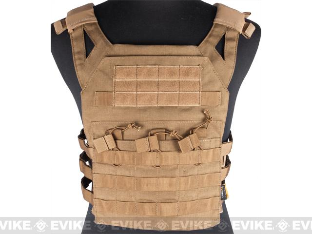 Avengers Compact Operator Airsoft High Speed JPC Plate Carrier - Tan