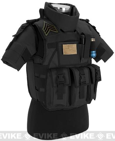 Matrix S.D.E.U. Ultra Light Weight Airsoft Tactical Vest - (Black)