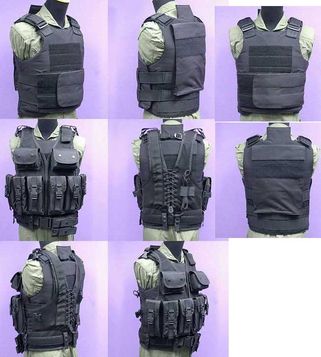 Matrix Tactical Systems Navy Seal Light Fighter Tactical PT Body Armor - Black