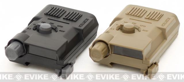 Xcortech X3300W Advanced BB Control System - Computer Chronograph / Tracer / Burst Control Unit - Black